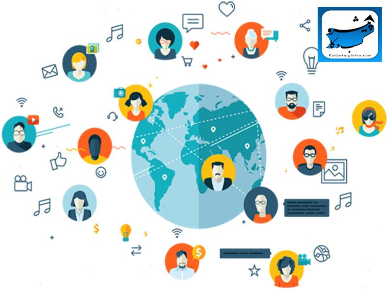 افزایش مخاطبان شبکه های اجتماعی