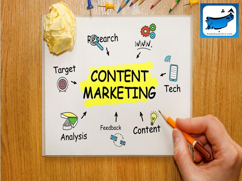 مراحل انجام بازاریابی محتوایی