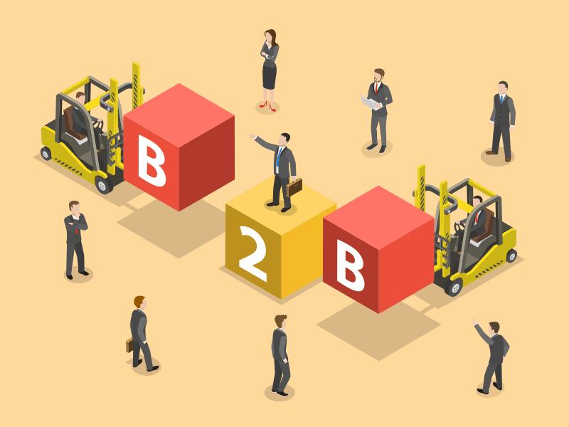 فروشB2B یا فروش سازمانی